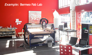 Fab Lab Similar to ECO Lab- Photo by HJ Barraza